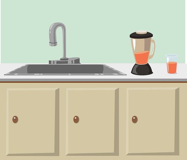 キッチンの水道