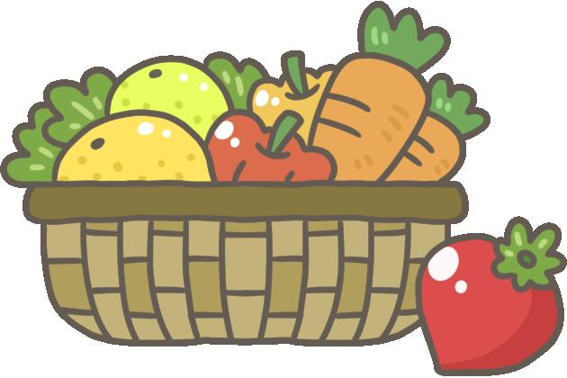 果物と野菜のイラスト