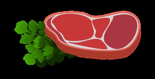 肉のイラスト