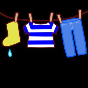 洗濯物のイラスト