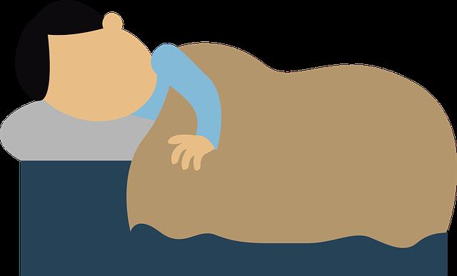 睡眠のイラスト